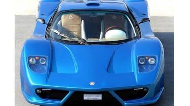 Montecarlo Rascasse supercar blue front