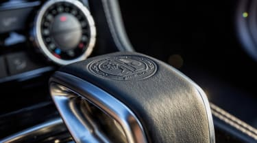 Mercedes CLS63 AMG S gear selector