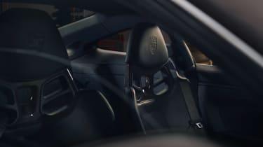 Porsche 911 GT3 Touring – seats