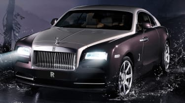 Rolls-Royce Wraith news and pictures