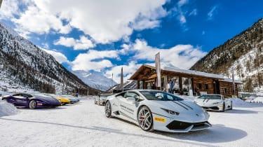 Pirelli winter tyres campaign - Lamborghini Winter experience