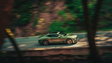 Bentley Continental GT V8 review - side
