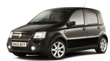 Fiat Panda 100HP front quarter