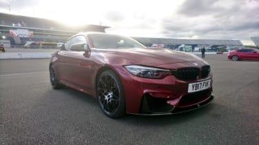 Rockingham track day 2 - BMW M4 Comp