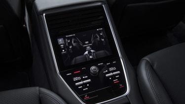 Porsche Panamera Turbo - Rear console