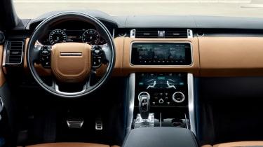 Range Rover Sport - on road interior2