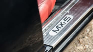 Mazda MX-5 Rocketeer kick plate