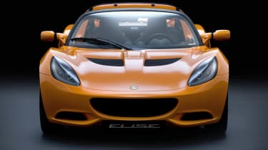New Lotus Elise front view