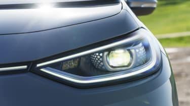 Volkswagen ID.3 review - headlights