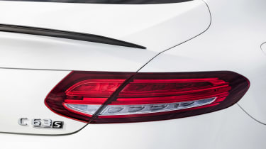 Mercedes-AMG C 63 S Coupe - white tai lights