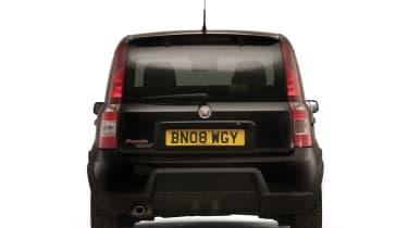 Fiat Panda 100HP rear black