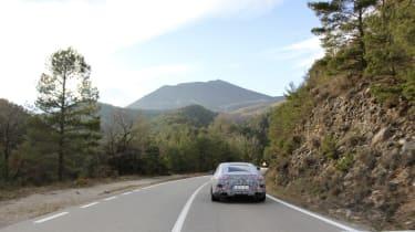 Mercedes-AMG GT Concept spy rear