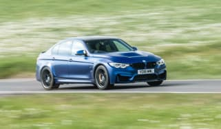 2018 BMW M3 CS - driving