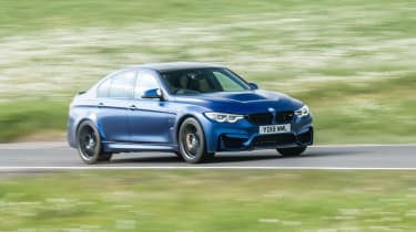 2018 BMW M3 CS - driving