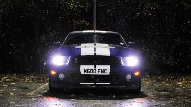 Shelby GT500 on the autobahn - Fright Night
