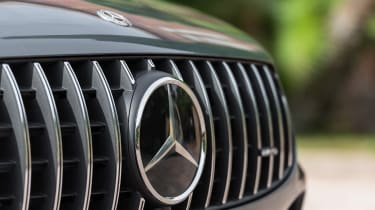 2019 Mercedes-AMG GLC 43 coupe grille