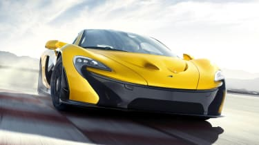 McLaren P1 front view