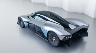 Aston Martin Valkyrie - top rear