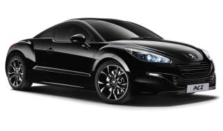 Peugeot RCZ Magnetic metallic black