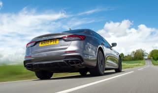 Maserati Quattroporte Trofeo – rear tracking