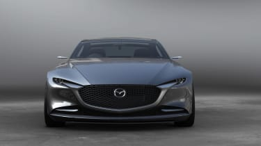 Mazda Vision Concept Coupe - front
