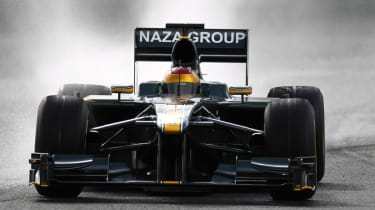 Formula 1 test latest