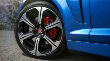 Jaguar XFR-S Sportbrake chrome alloy wheel