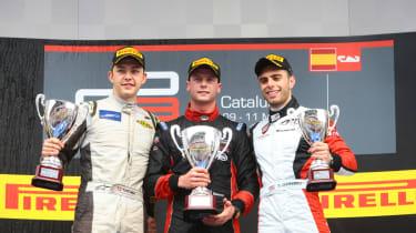 Dean Stoneman GP3 victory Catalunya