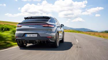 Porsche Cayenne Turbo GT – rear tracking 1