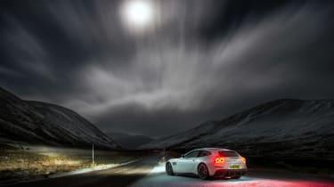 Ferrari GTC4 Lusso T - night