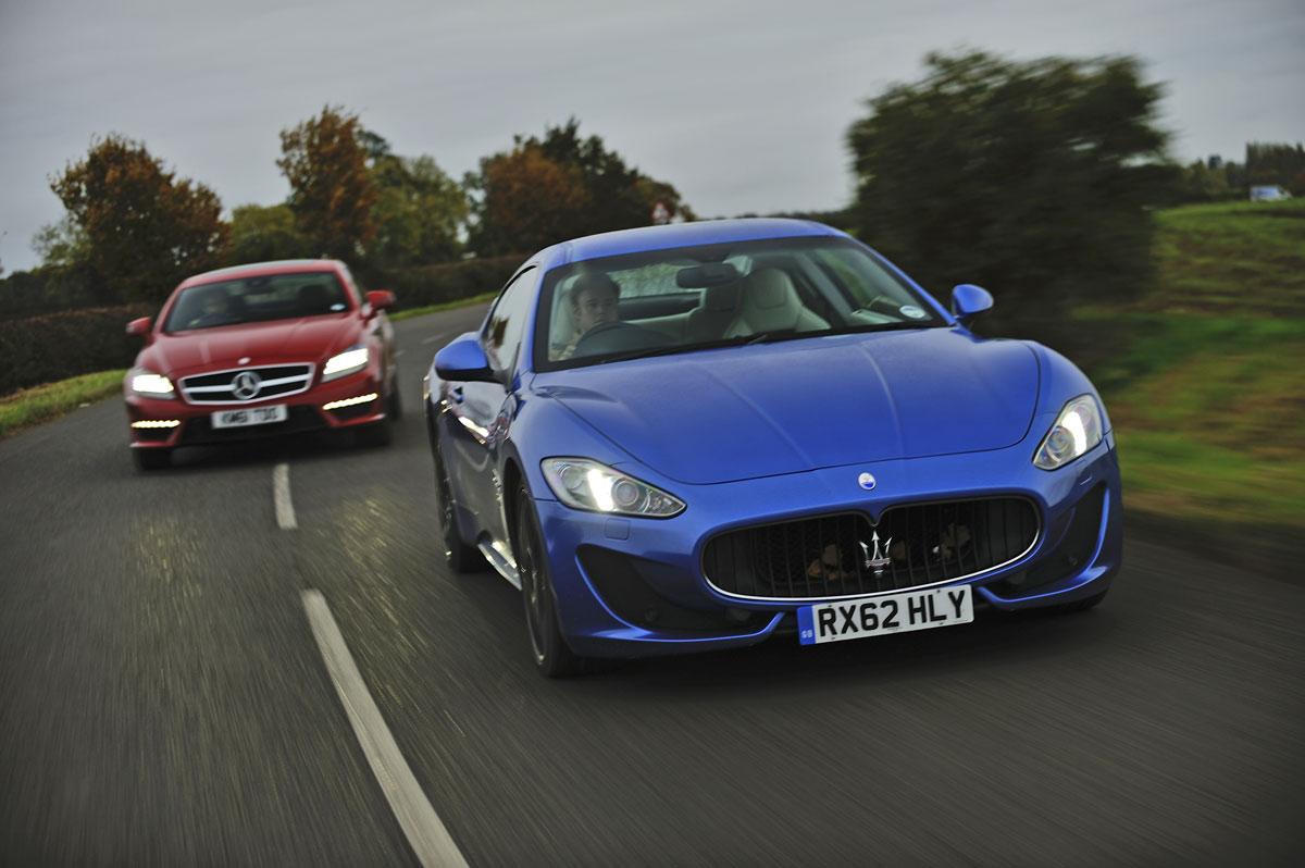Maserati Granturismo Sport V Mercedes Cls 63 Amg Bmw M6 Aston Martin Db9 And Bentley Continental Gt Speed Evo