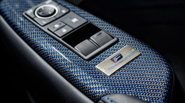 Lexus RC F 10th Anniversary plaque
