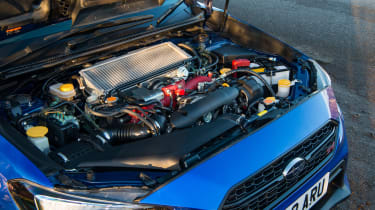 Subaru WRX Final Edition – engine