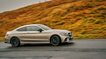 Mercedes-AMG C43 Coupe 2018 review - side