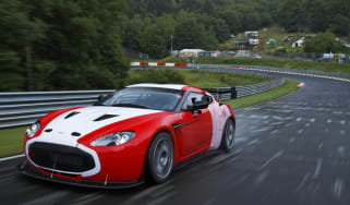 Aston Martin V12 Zagato Nurburgring 24 hour race car