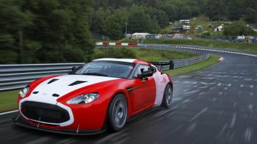 Aston Martin V12 Zagato Nurburgring 24 hour race car