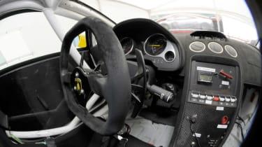 Lamborghini Super Trofeo interior