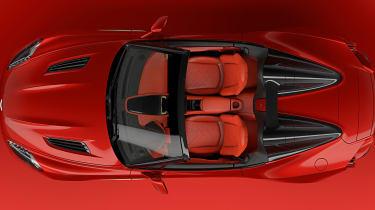 Aston Martin Zagato Speedster - above