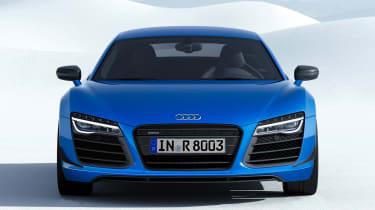 Audi R8 LMX front view