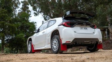 Toyota GR Yaris AP4 - rear quarter
