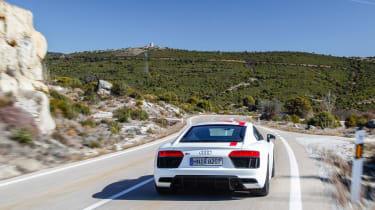 Audi R8 RWS - rear