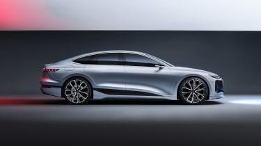 Audi A6 e-tron Concept - side