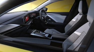 All-new Vauxhall Astra – interior