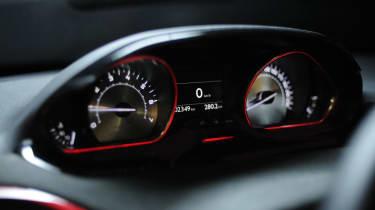 Peugeot 208 GTI dials