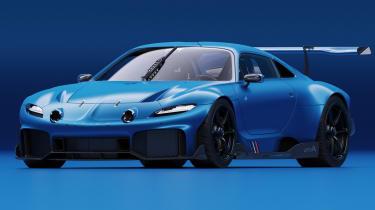 Alpine A110 GTA concept – front quarter