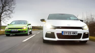 VW Scirocco tsi and R