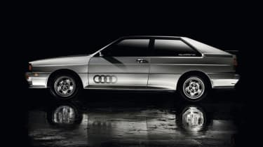 Audi Quattro - side