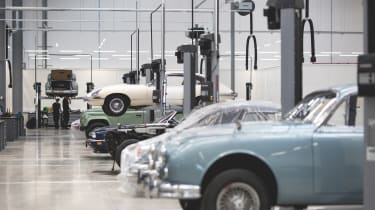 Jaguar Land Rover Classic Works - hall