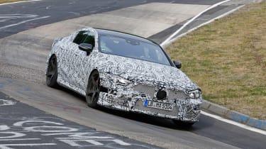 Mercedes-AMG GT Concept SPY - front 2