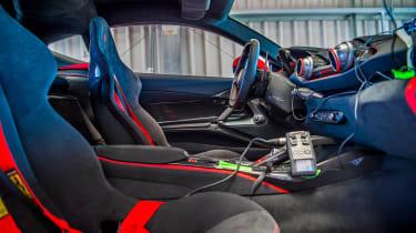 Ferrari 812 Superfast Anglesey - interior